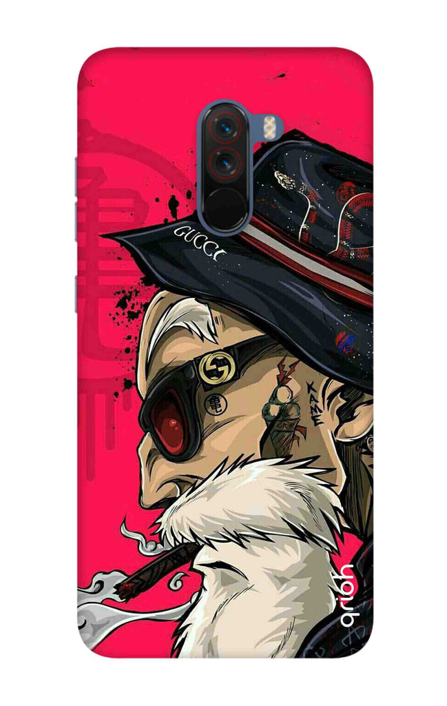 quality design fdea6 c45f9 Hipster Oldman Case for Xiaomi Poco F1