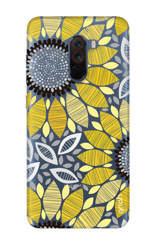 Stitched Floral Xiaomi Poco F1 Cases & Covers Online