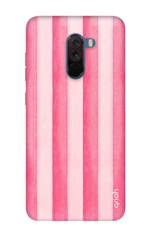 Painted Stripe Xiaomi Pocophone F1 Cases & Covers Online