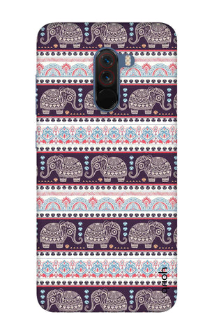 Elephant Pattern Xiaomi Pocophone F1 Cases & Covers Online
