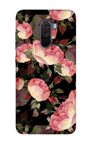 Watercolor Roses Xiaomi Pocophone F1 Cases & Covers Online