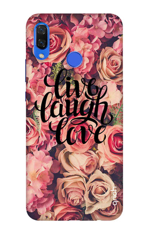 Floral Live, Laugh, Love Huawei Nova 3i Cases & Covers Online