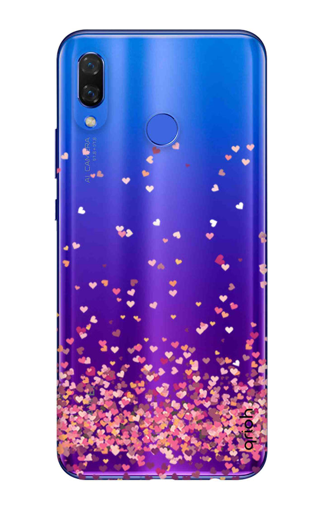 new concept 519ec 0cd1e Cluster Of Hearts Case for Huawei Nova 3i