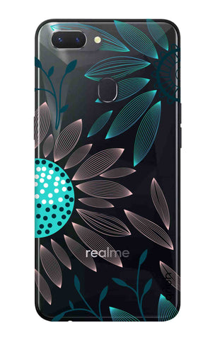 Pink And Blue Petals Oppo Realme 2 Cases & Covers Online