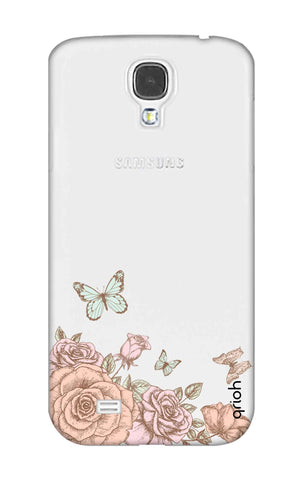 Flower And Butterfly Samsung S4 Cases & Covers Online