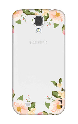 Flower In Corner Samsung S4 Cases & Covers Online