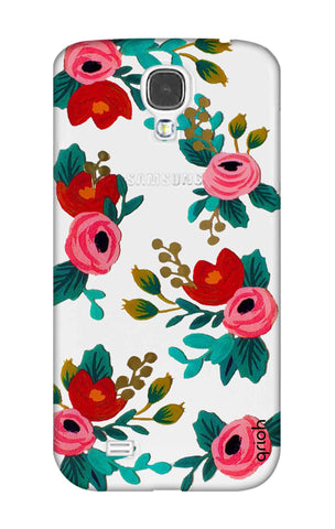 Red Floral Samsung S4 Cases & Covers Online