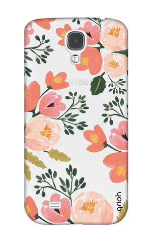 Painted Flora Samsung S4 Cases & Covers Online