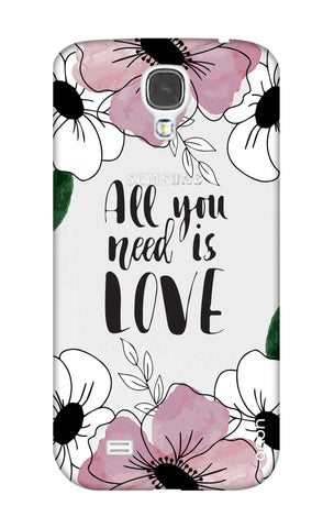 All You Need is Love Samsung S4 Cases & Covers Online