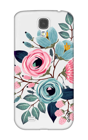 Pink And Blue Floral Samsung S4 Cases & Covers Online