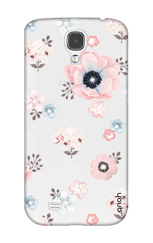 Beautiful White Floral Samsung S4 Cases & Covers Online