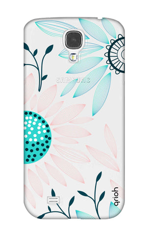 Pink And Blue Petals Samsung S4 Cases & Covers Online