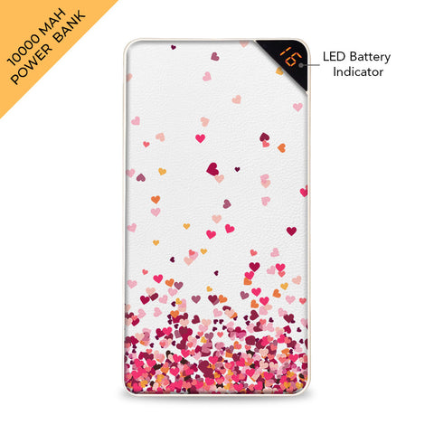 Cluster of Hearts 10000 mAh Universal Power Bank Online