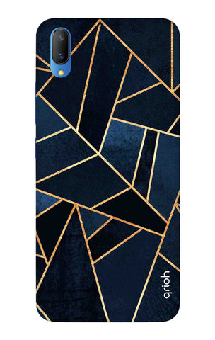 Abstract Navy Vivo V11 Cases & Covers Online