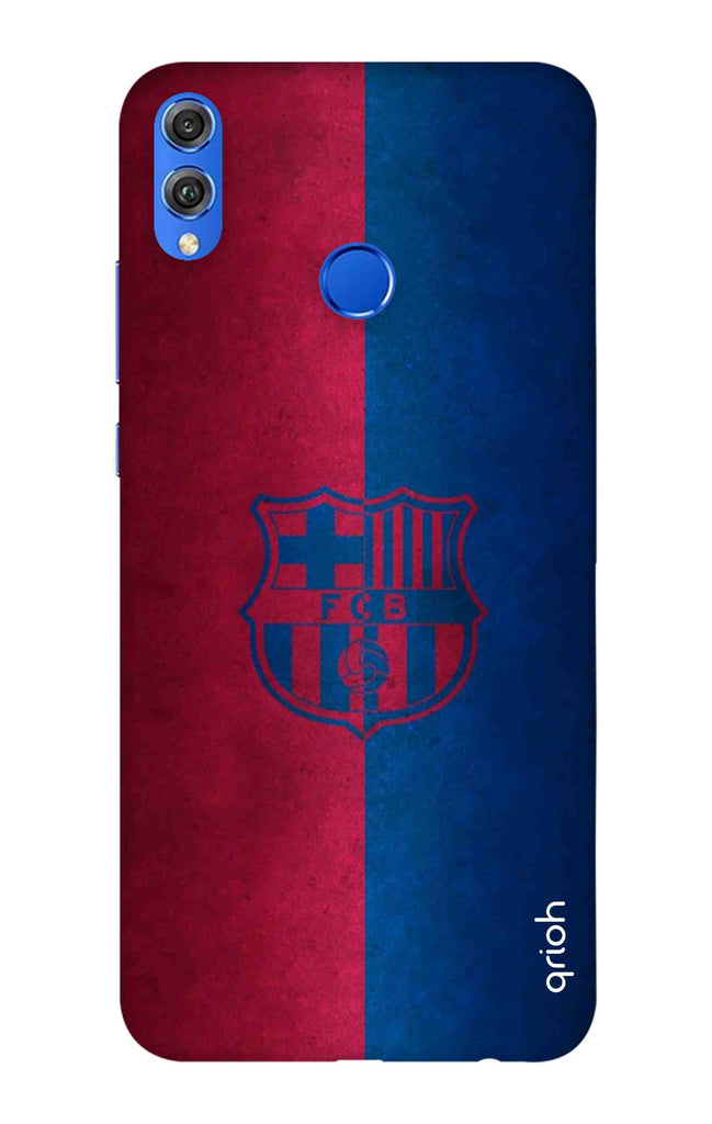 new arrivals 3c291 bf7de Football Club Logo Case for Huawei Honor 8X