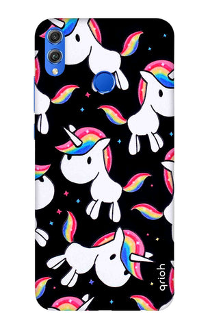 Colourful Unicorn Huawei Honor 8X Cases & Covers Online