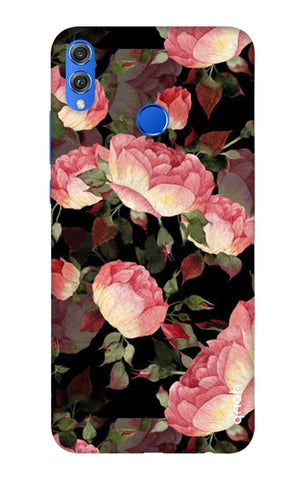 Watercolor Roses Huawei Honor 8X Cases & Covers Online
