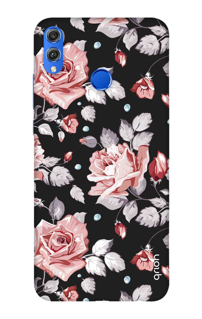 Shabby Chic Floral Case for Huawei Honor 8X