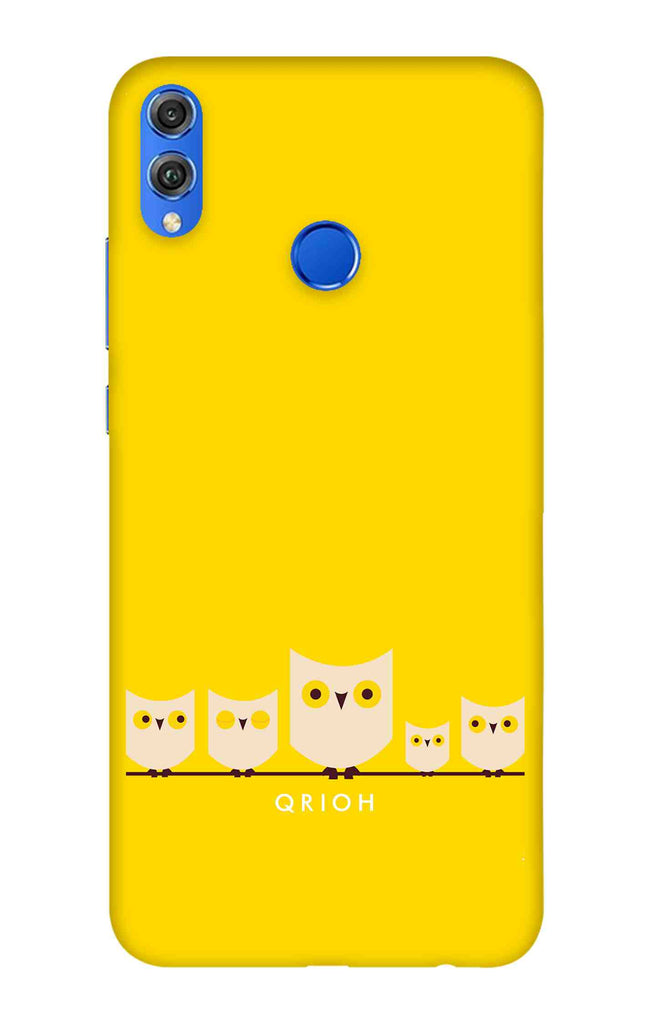 Owl Family Case for Huawei Honor 8X