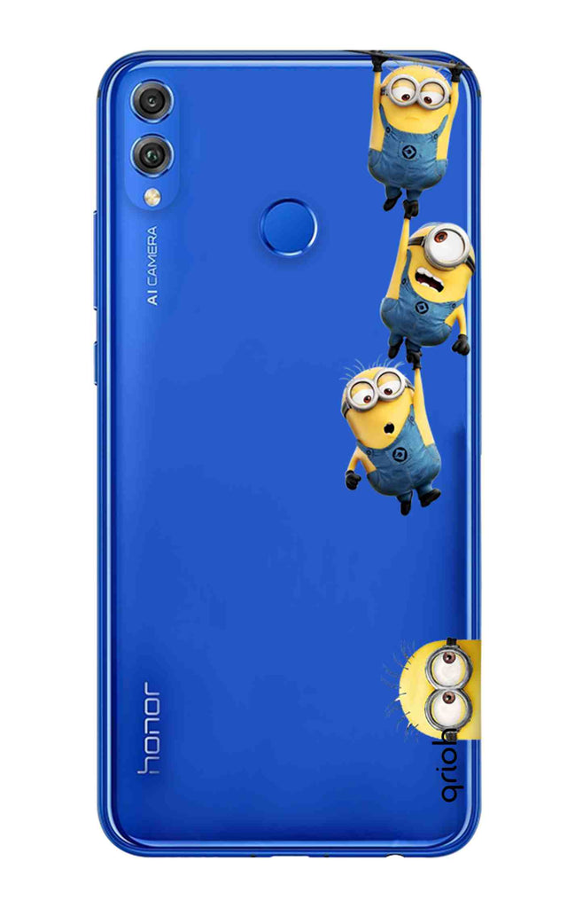 brand new 20f9a 9ce4d Falling Minions Case for Huawei Honor 8X