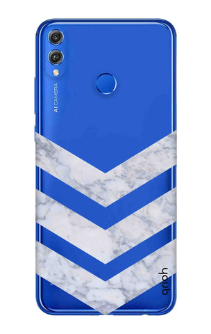 Marble Chevron Huawei Honor 8X Cases & Covers Online
