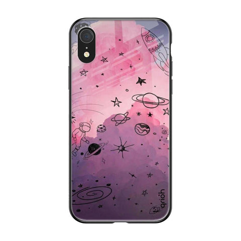 Space Doodles iPhone XR Glass Cases & Covers Online