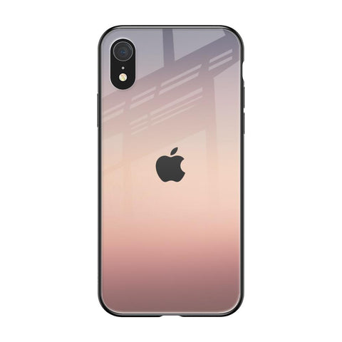 Golden Mauve iPhone XR Glass Cases & Covers Online