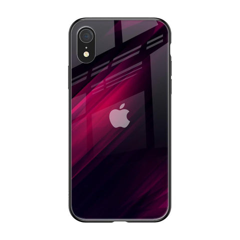 Razor Black iPhone XR Glass Cases & Covers Online