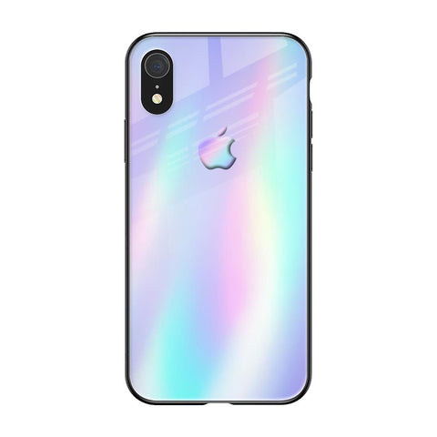 Holographic Pattern iPhone XR Glass Cases & Covers Online