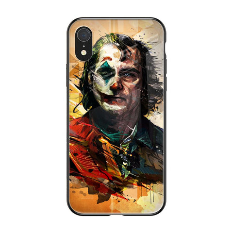 Psycho Villain iPhone XR Glass Cases & Covers Online