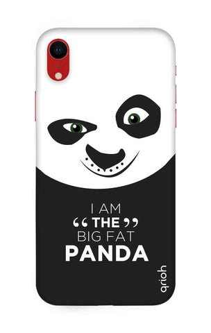 Big Fat Panda iPhone XR Cases & Covers Online