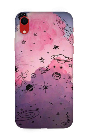 Space Doodles Art iPhone XR Cases & Covers Online