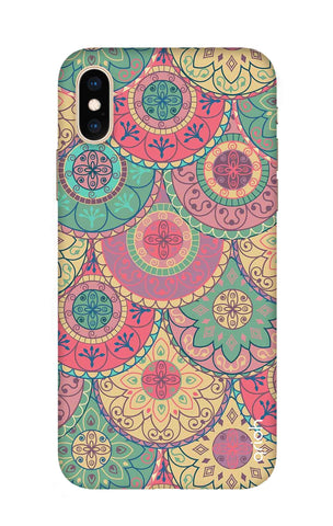 Colorful Mandala iPhone XS Cases & Covers Online