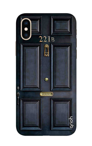 Baker Street Door iPhone XS Cases & Covers Online