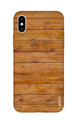 Natural Wood iPhone XS Cases & Covers Online