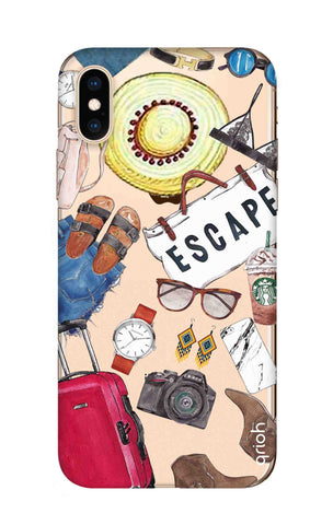 Travel Doodle iPhone XS Cases & Covers Online