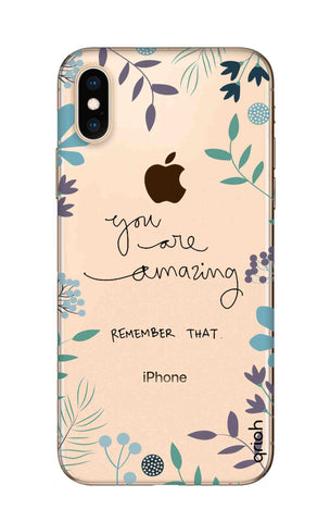 You're Amazing iPhone XS Cases & Covers Online