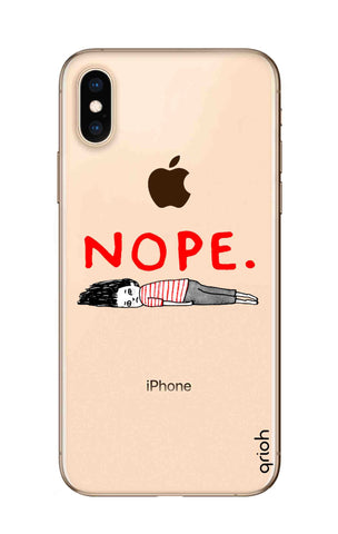 Nope iPhone XS Cases & Covers Online