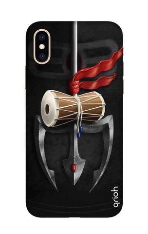 Mahadev Trident iPhone XS Cases & Covers Online