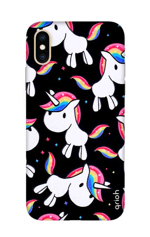 Colourful Unicorn iPhone XS Max Cases & Covers Online