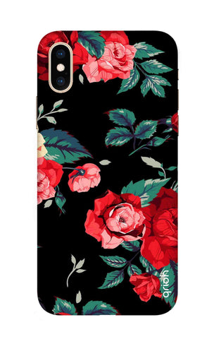 Wild Flowers iPhone XS Max Cases & Covers Online