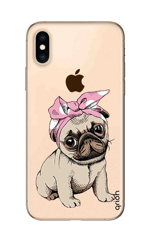 Pink Puggy iPhone XS Max Cases & Covers Online