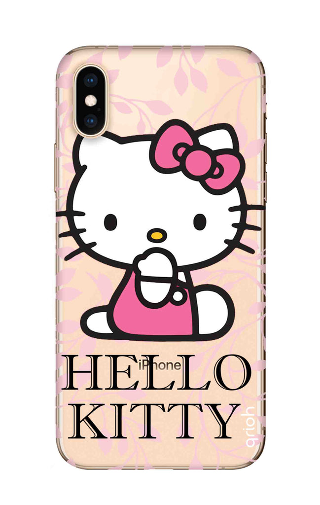 new arrival 06085 a21fd Hello Kitty Floral Case for iPhone XS Max