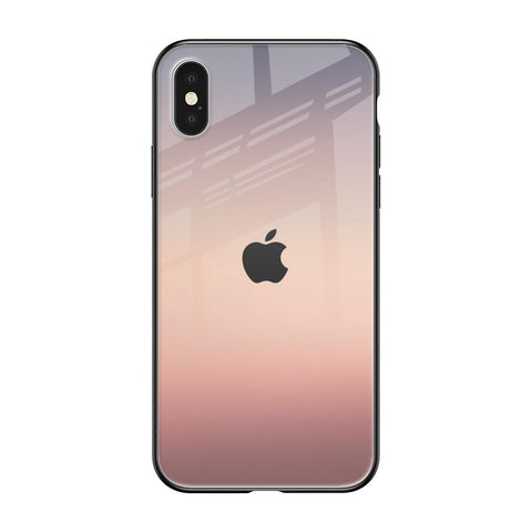 Golden Mauve iPhone XS Max Glass Cases & Covers Online