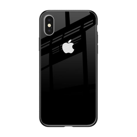 Jet Black iPhone XS Max Glass Cases & Covers Online
