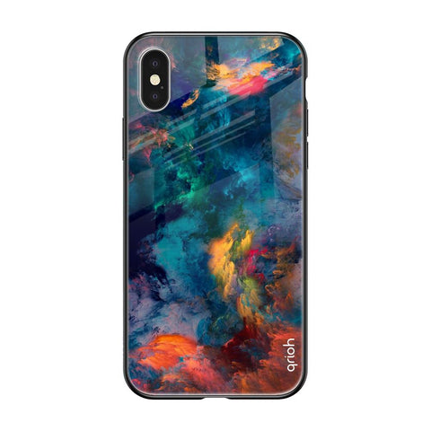 Cloudburst iPhone XS Max Glass Cases & Covers Online