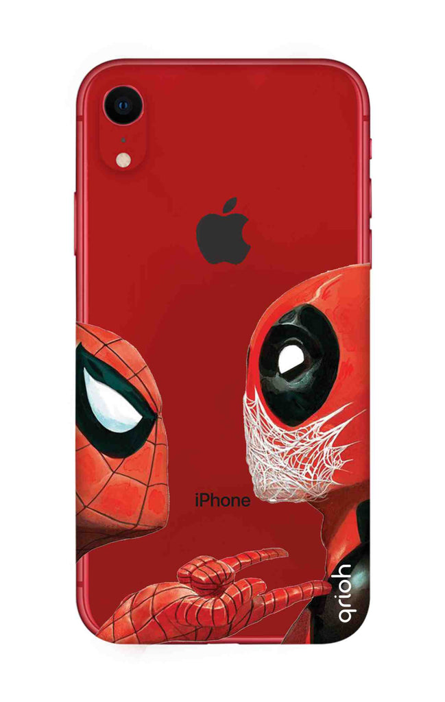 new style bc0b2 691b7 Sup Deadpool Case for iPhone XR