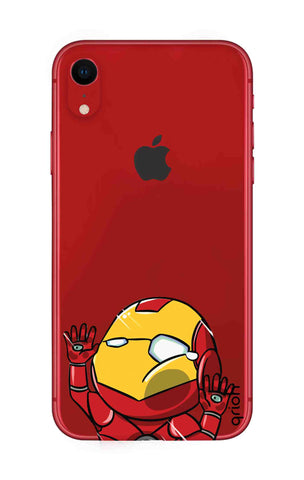 Iron Man Wall Bump iPhone XR Cases & Covers Online