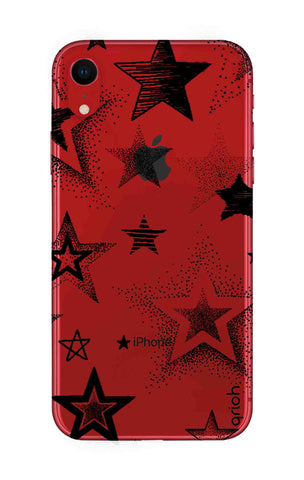 Black Stars iPhone XR Cases & Covers Online