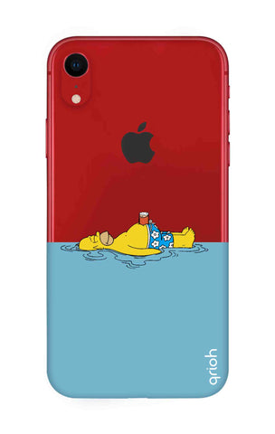 Simpson Chill iPhone XR Cases & Covers Online